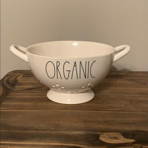Rae Dunn organic colander